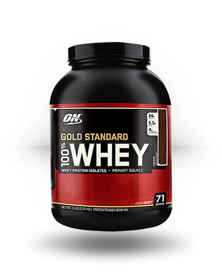 Optimum Nutrition Gold Standard 100% Whey Coffee 5 lb