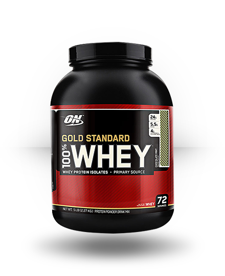 Optimum Nutrition Gold Standard 100% Whey Chocolate Mint 5 lb