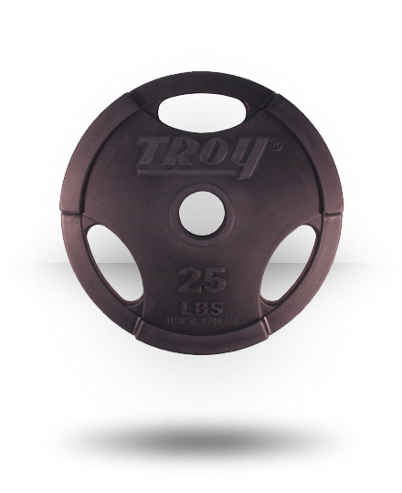 Troy Barbell Urethane Encased Grip Plate 25 lb