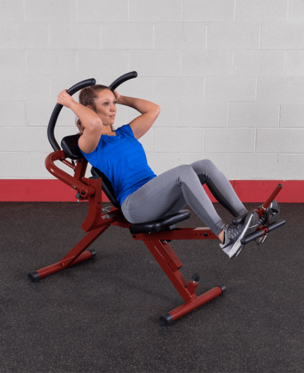 Semi-Recumbent Ab Bench