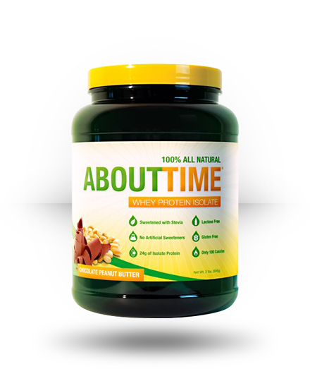 About Time About Time Chocolate Peanut Butter 2 lb
