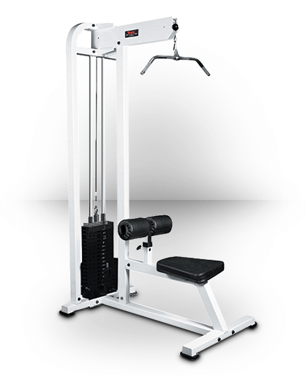 York Barbell Lat Pulldown White 250 lb