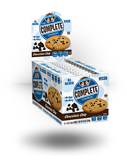 Lenny & Larry's All-Natural Complete Cookie Chocolate Chip 12 ea