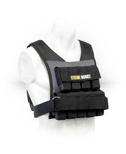 Xtreme Monkey Commercial Micro Adjustable Weighted Vest 35 lb