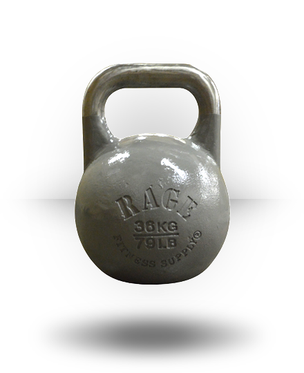 Rage Fitness Rage Competition Kettlebell 36 kg Gray