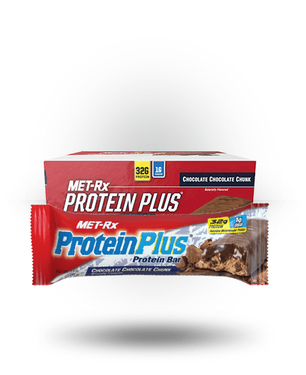 MET-Rx Protein Plus Chocolate Chocolate Chunk, 9 Bars
