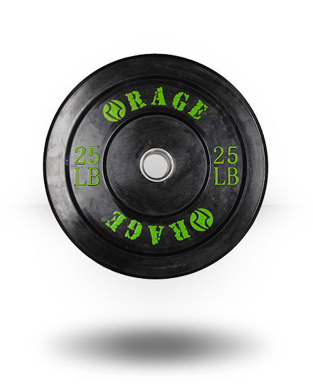 Rage Fitness Rage Pro Olympic Bumper 25 lb