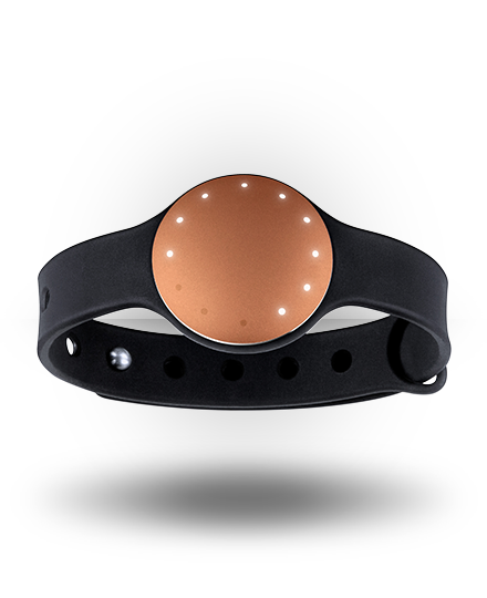 Misfit Shine with Sport Band Coral