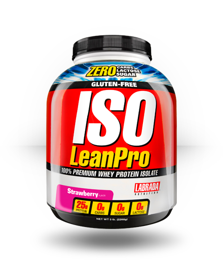 Labrada Nutrition Iso LeanPro Strawberry 5 lb