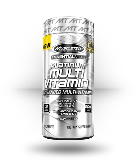 MuscleTech Platinum Multivitamin 90 ea