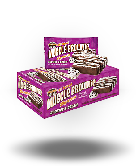 Lenny & Larry's Muscle Brownies Cookies & Cream 12 ea