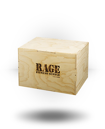 Rage Fitness Rage Wood Cube Plyo Box 20