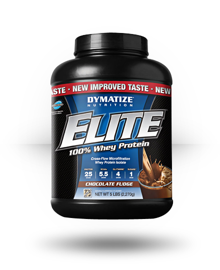 Dymatize Elite Whey Chocolate Fudge 5 lb