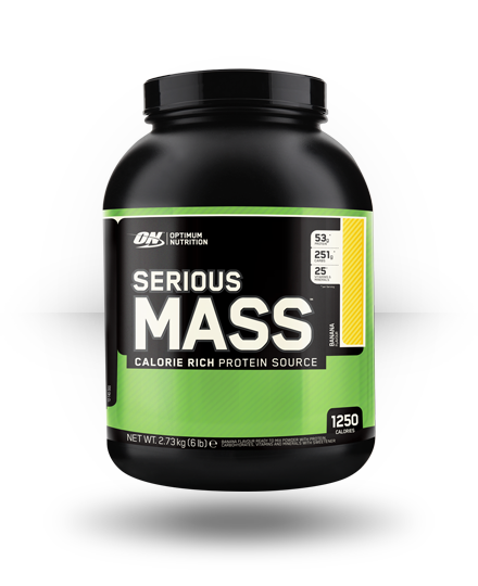 Optimum Nutrition Serious Mass Banana 6 lb