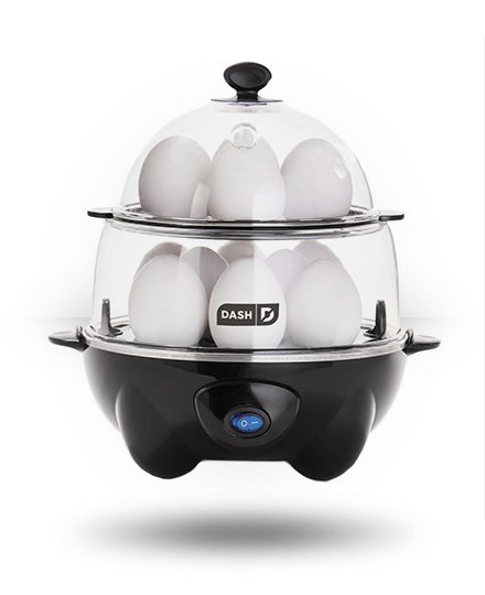 Dash Deluxe Rapid Egg Cooker Black