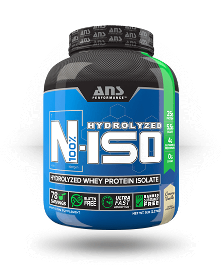 ANS Performance N-ISO Creamy Vanilla 75 Servings