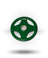 Body-Solid Rubber Grip Olympic Plate (Colored) Green 10 lb
