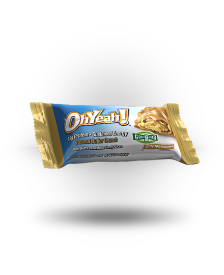 ISS OhYeah! Bar Peanut Butter Crunch 12 ea 45g