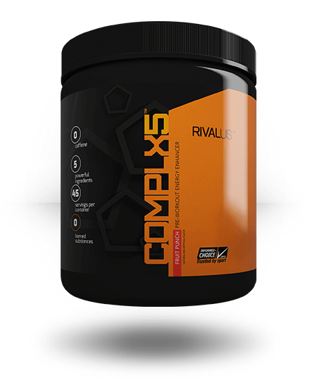 Rivalus Complx5 Fruit Punch 45 Servings