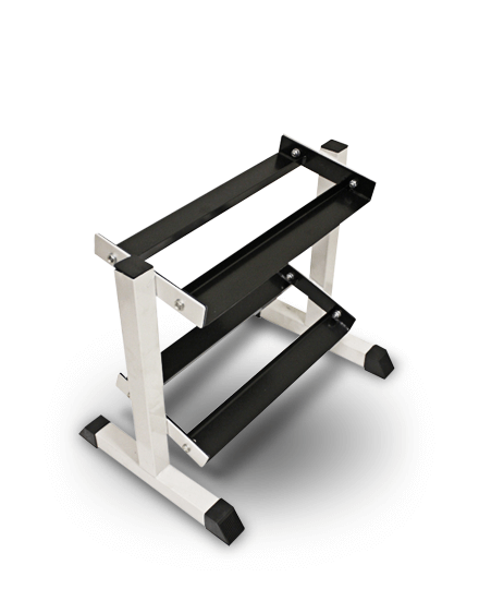 TROY Barbell Miniature 2 tier, 5 pair Dumbbell Rack