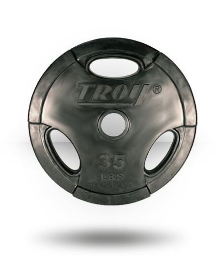 Troy Rubber Encased Grip Plate 35 lb