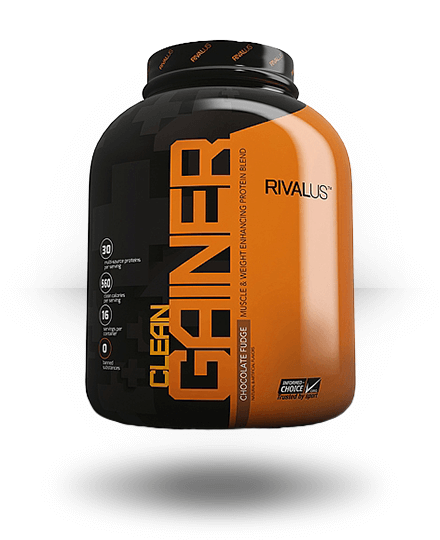 Rivalus Clean Gainer Chocolate Fudge 5 lb