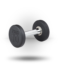 Body-Solid Rubber Pro-Style Dumbbell 10 lb