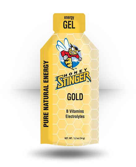 Honey Stinger Energy Gel Gold, 24 x 1.2 oz Packets