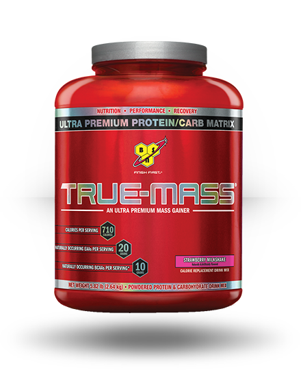 BSN True-Mass Strawberry Milkshake 5.82 lb