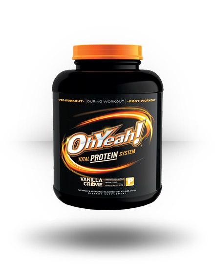 ISS OhYeah! Protein Powder Vanilla Creme 4 lb