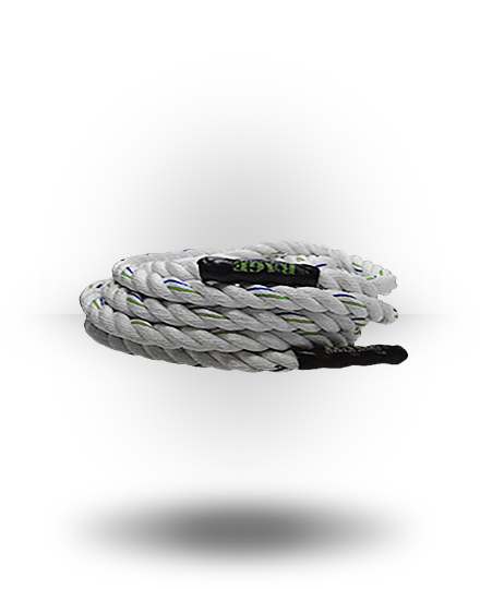 "Rage Fitness Polydac Conditioning Rope 1.5"" x 40'"