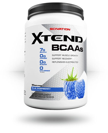 Scivation Xtend Raspberry Blue 90 ea