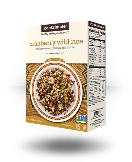 Cooksimple Cranberry Wild Rice