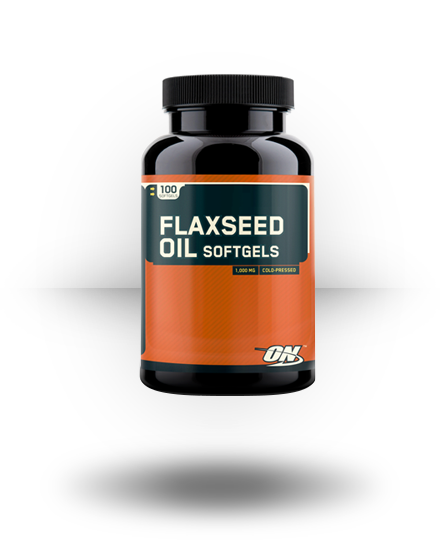 Optimum Nutrition Flaxseed Oil Softgels 100 ea