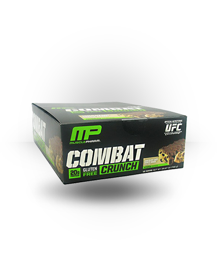 MusclePharm Combat Crunch Chocolate Chip Cookie Dough 12 ea