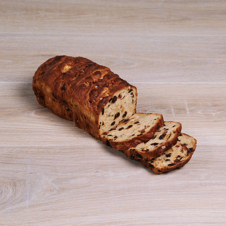 Vanilla Raisin Breakfast Loaf