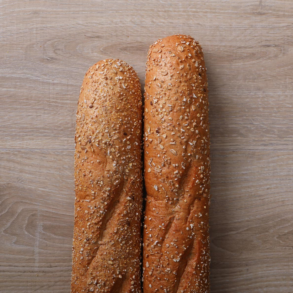 "24"" Cracked Wheat Baguette"
