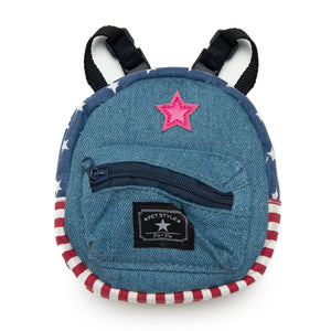 Demin backpack - Furbaby Couture