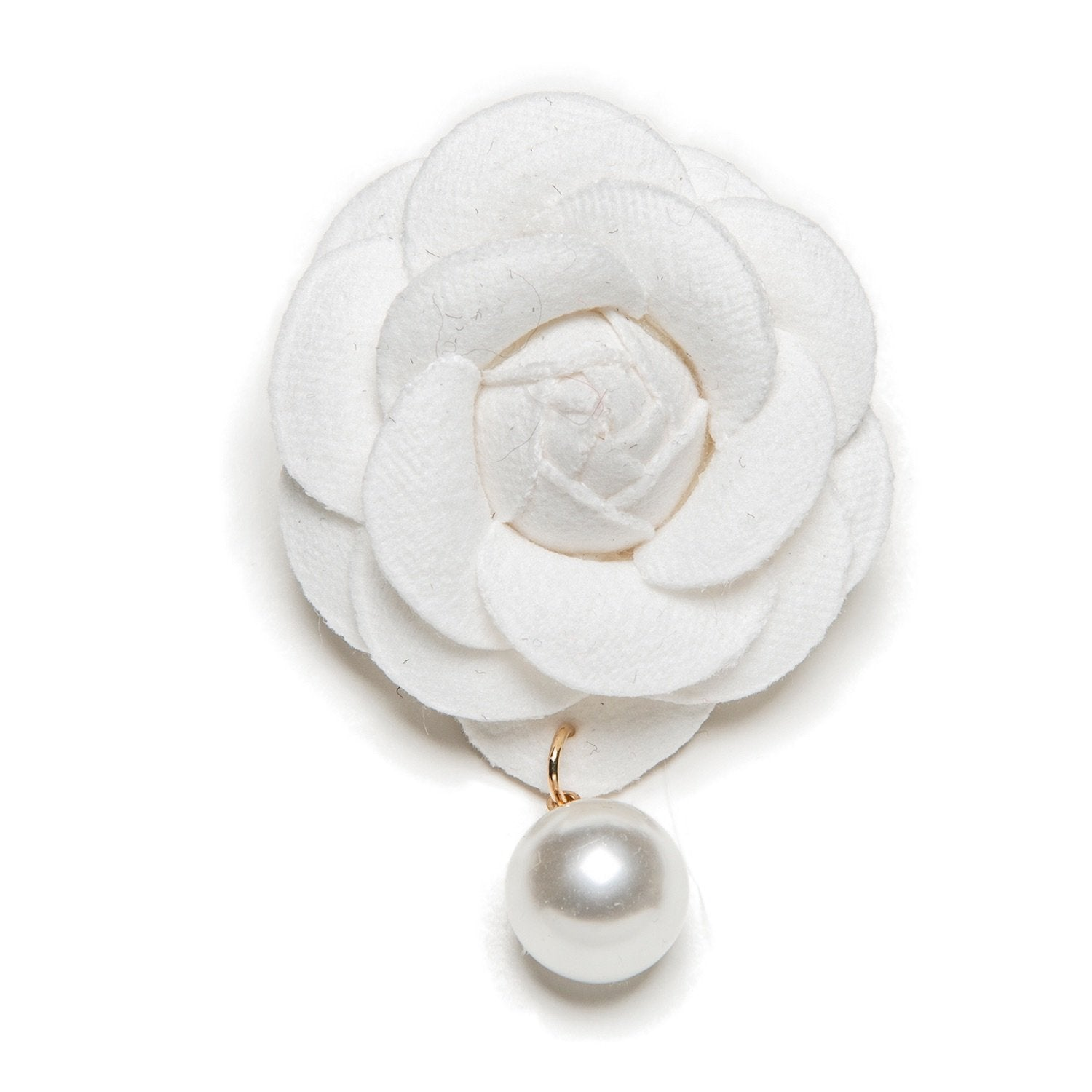 Camellia Brooch - Furbaby Couture