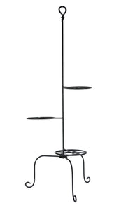 Signature Hand-Forged Knot Triple Plant Stand 3073