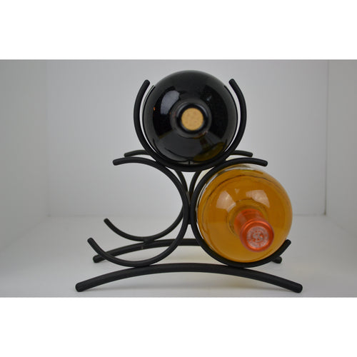 Brookside Large Three Bottle Wine Rack Liter 4210