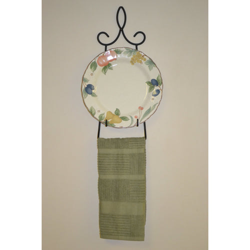 Canterbury Plate and Towel Holder 4173