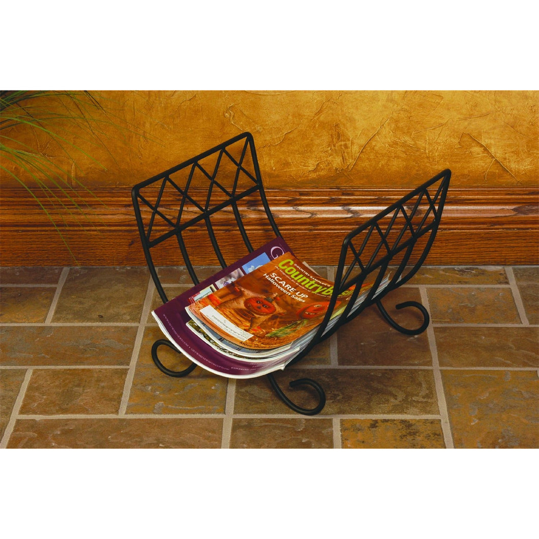 Monticello Magazine Wood Rack 778