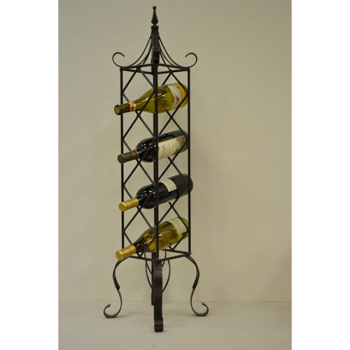 Monticello Freestanding Vertical Wine Rack Bronze BR1513
