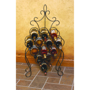 Vinci Wine Rack Dark Pewter DP1020