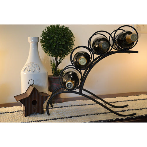 Archer Four Bottle Wine Rack 4100