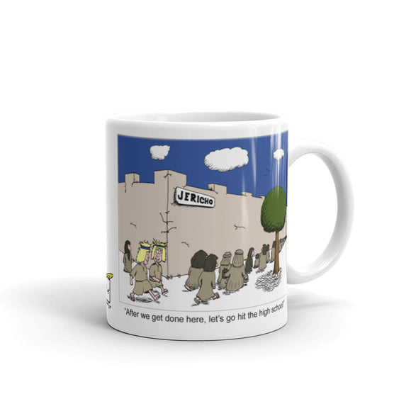 Walls of Jericho Mug
