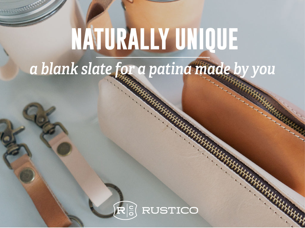 Vegetable Tanned Natural Leather