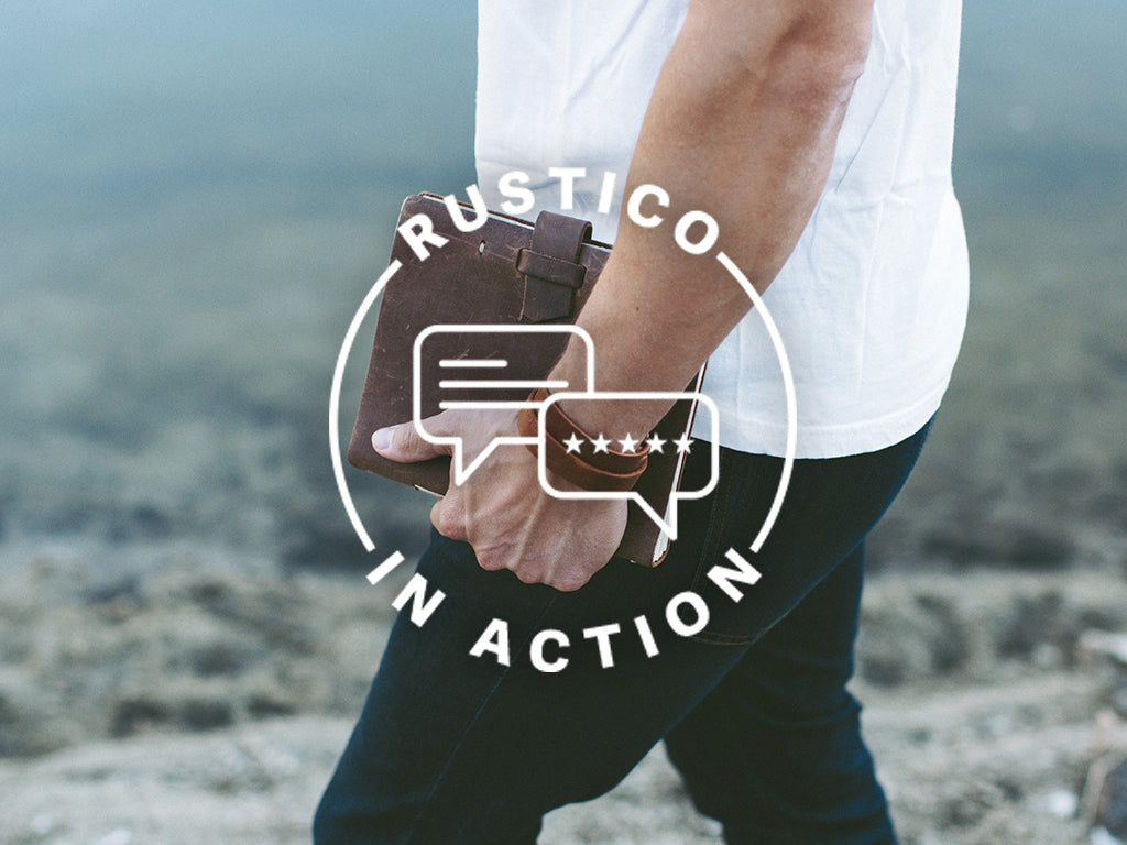 Rustico in Action : Larry Rowell