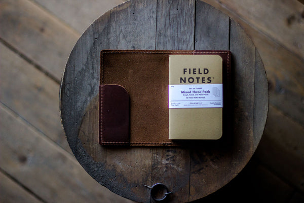 leather field notes refillable